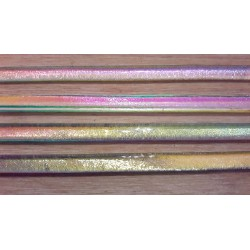 Riley Designs Dichroic Glass - Rainbow 2 Crinkle